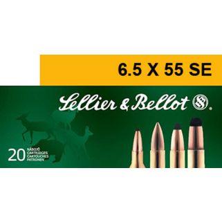 S&B SB6555B 6.5X55SE 140 SP 20/20