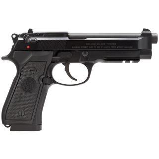 "Beretta 92A1 9mm Luger 4.9"" Barrel W/ 3 Dot Sights 10+1 J9A9F11"