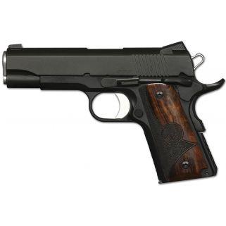 """Dan Wesson 1911 CCO 45ACP 4.25"""" Barrel W/ Night Sights 7+1 Stippled Shadow Grip/Matte Black 01962"""