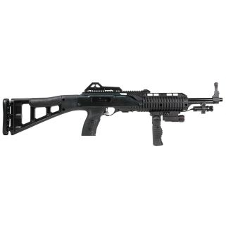 "Hi-Point 995TS Carbine 9mm Luger 16.5"" Barrel W/ Adjustable Sights-Light-Laser 10+1 Forward Grip-Black 995FGFLLAZTS"