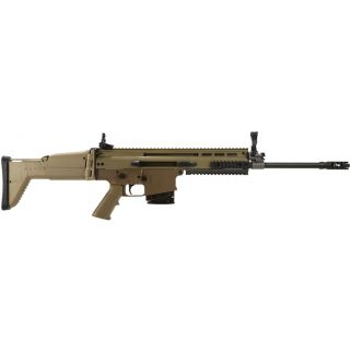 "FN SCAR 17S 308WIN 16.25"" Barrel W/ Adjustable Sights 10+1 Flat Dark Earth-Black 98641"