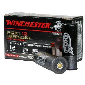 """Winchester Supreme Elite PDX1 12 Gauge 00Buck Shot 2.75"""" 10 Round Box S12PDX1"""