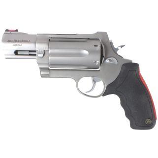 "Taurus 513 Raging Judge 45 Colt/454 Casull/410 Gauge 3"" Barrel/6.5"" Barrel 6Rd Black Rubber Grip/Stainless 2513039"