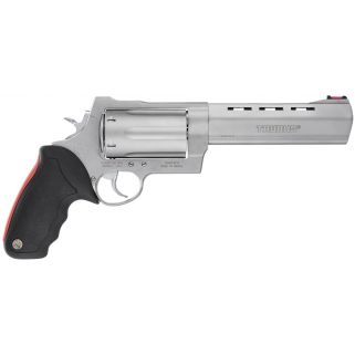 "Taurus 513 Raging Judge 45 Colt/454 Casull/410 Gauge 6.5"" Barrel 6Rd Black Rubber Cushion Insert/Stainless 2513069"