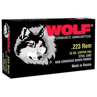 WOLF 22362 223 FMJ CP 62 500