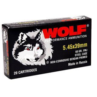 WOLF 545BFMJ 5.45X39 FMJ BI 60 750