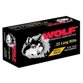 WOLF 22MTB 22LR MT TGT SOL RN 40 5000