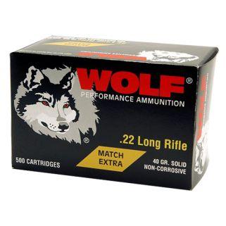 WOLF 22XTRA 22LR MT EXT SOL RN 40 5000