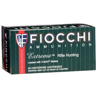 Fiocchi Extreme 222 Remington 50 Grain V-Max 20 Round Box 222HVA