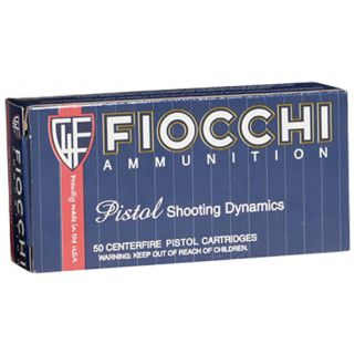 Fiocchi Shooting Dynamics 38S&W Short 145 Grain LRN 50 Round Box 38SWSHL