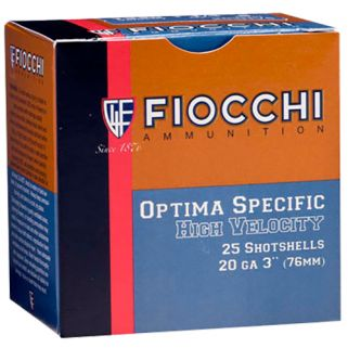 "Fiocchi High Velocity 20 Gauge 5 Shot 3"" 25 Round Box 203HV5"