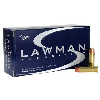 SPEER 53750 LAWMAN 38S+P 158 TMJ 50/20