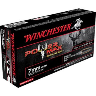Winchester Power Max Bonded 7mmWSM 150 Grain 20 Round Box X7MMWSMBP