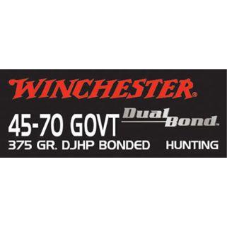 Winchester Dual Bond 45-70GOVT 375 Grain 20 Round Box S4570DB