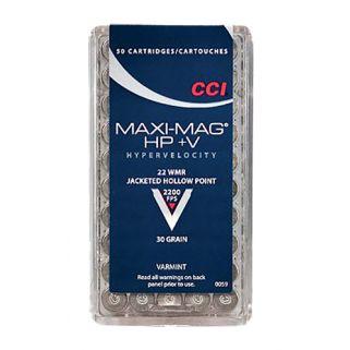 CCI 0059 22 WMR MAXI-MAG HP+V 50/40