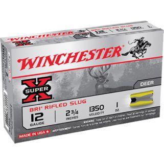 """Winchester Super-X 12 Gauge Sabot Shot 2.75"""" 5 Round Box XRS12"""