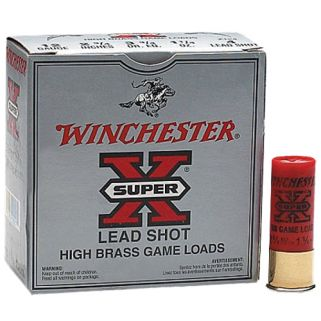 "Winchester Super-X High Brass 12 Gauge 5 Shot 2.75"" 25 Round Box X125"