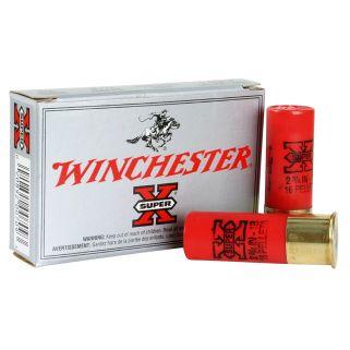"""Winchester Super-X 12 Gauge 0 Buck 2.75"""" 5 Round Box XB121"""