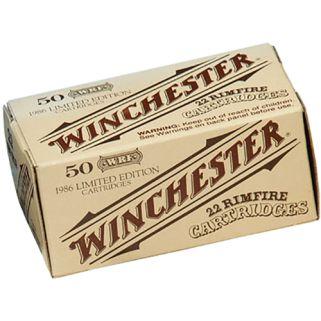 Winchester 22WIN Rimfire 45 Grain Lead 50 Round Box 22WRF