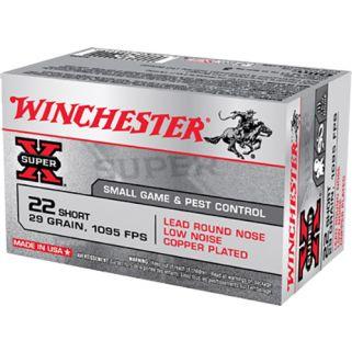 Winchester Super-X 22 Short 29 Grain 50 Round Box X22S
