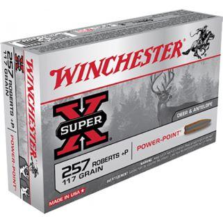 Winchester Super-X 257 Roberts 117 Grain 20 Round Box X257P3
