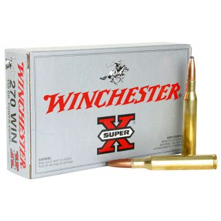 Winchester Super-X 270WIN 150 Grain 20 Round Box X2704