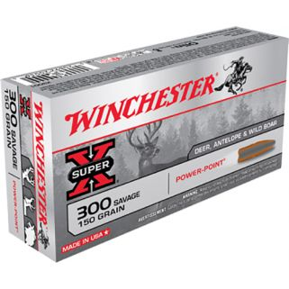 Winchester Super-X 300 Savage 150 Grain 20 Round Box X3001