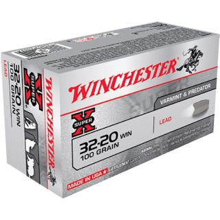 Winchester Super-X 32-20WIN 100 Grain 50 Round Box X32201