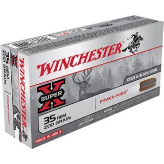 Winchester Super-X 35 Remington 200 Grain 20 Round Box X35R1