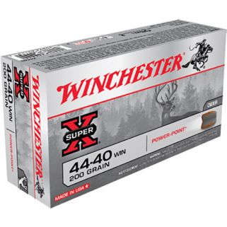 Winchester Super-X 44-40WIN 200 Grain 50 Round Box X4440