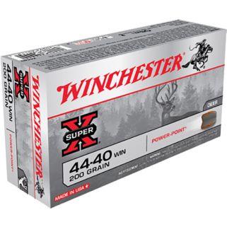 Winchester Super-X 44-40WIN 200 Grain 50 Round Box X4440