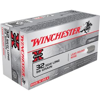 Winchester Super-X 32S&W Long 98 Grain 50 Round Box X32SWLP