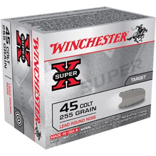 Winchester Super-X 45 Colt 255 Grain 20 Round Box X45CP2