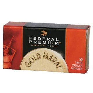 Federal Premium Gold Medal 22LR 40 Grain 50 Rd Box 711B