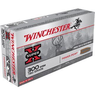 Winchester Super-X 300WSM 180 Grain 20 Round Box X300WSM