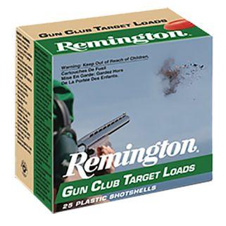 """Remington Gun Club Target Load 20 Gauge 9 Shot 2.75"""" 25 Round Box GC209"""
