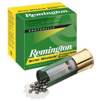 "Remington Nitro Magnum 12 Gauge 4 Shot 2.75"" 25 Round Box NM12S4"