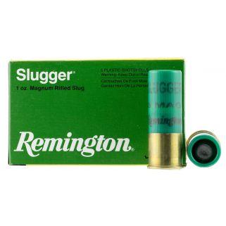 "Remington Slugger Rifles Slugs 12 Gauge Slug Shot 2.75"" 5 Round Box S12SRS"
