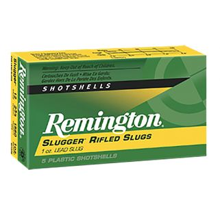 "Remington Slugger Rifled Slugs 12 Gauge Slug Shot 2.75"" 5 Round Box SP12RS"