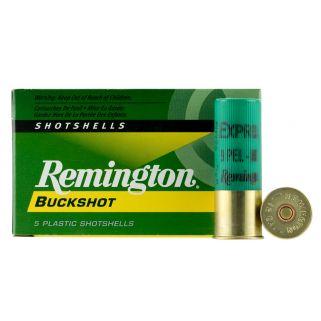 """Remington Express Buckshot 12 Gauge 00 Buck 2.75"""" 5 Round Box 12BK00"""