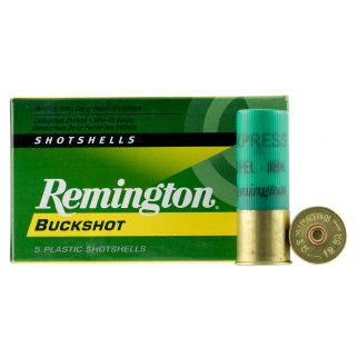 """Remington Express Buckshot 12 Gauge 0 Buck 2.75"""" 5 Round Box 12BK0"""
