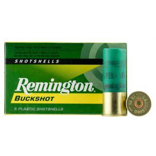 """Remington Express Buckshot 12 Gauge 1 Buck 2.75"""" 5 Round Box 12BK1"""