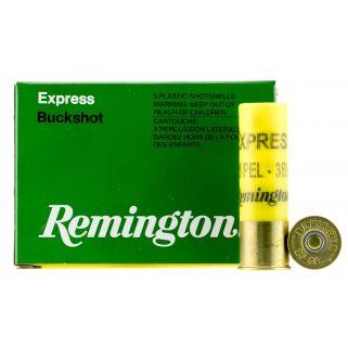 """Remington Express Buckshot 20 Gauge 3 Buck 2.75"""" 5 Round Box 20BK3"""