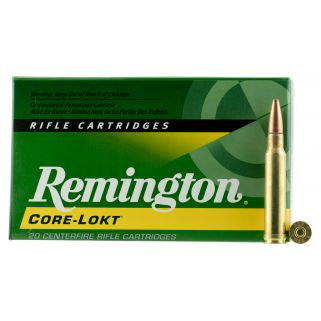 Remington Core-Lokt 338 Winchester Magnum 250 Grain Brass 20 Round Box R338W2