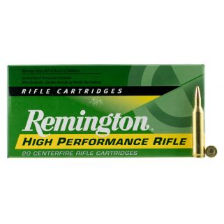 Remington Standard Rifle 17 Remington 25 Grain Brass 20 Round Box R17R2