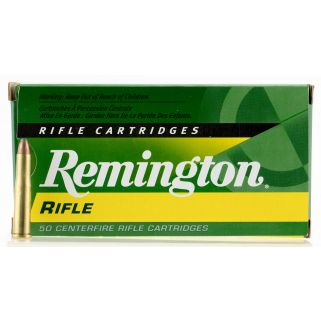 Remington Standard Rifle 22 Hornet 45 Grain Brass 50 Round Box R22HN1