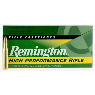 Remington Standard Rifle 222 Remington 50 Grain Brass 20 Round Box R222R1