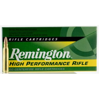 Remington High Performance Rifle 223 Remington/5.56NATO 55 Grain Brass 20 Round Box R223R1