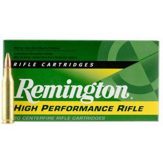 Remington High Performance Rifle 243 Winchester 80 Grain Brass 20 Round Box R24W1