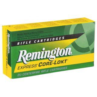 Remington Core-Lokt 25-06 Remington 100 Grain 20 Round Box R25062